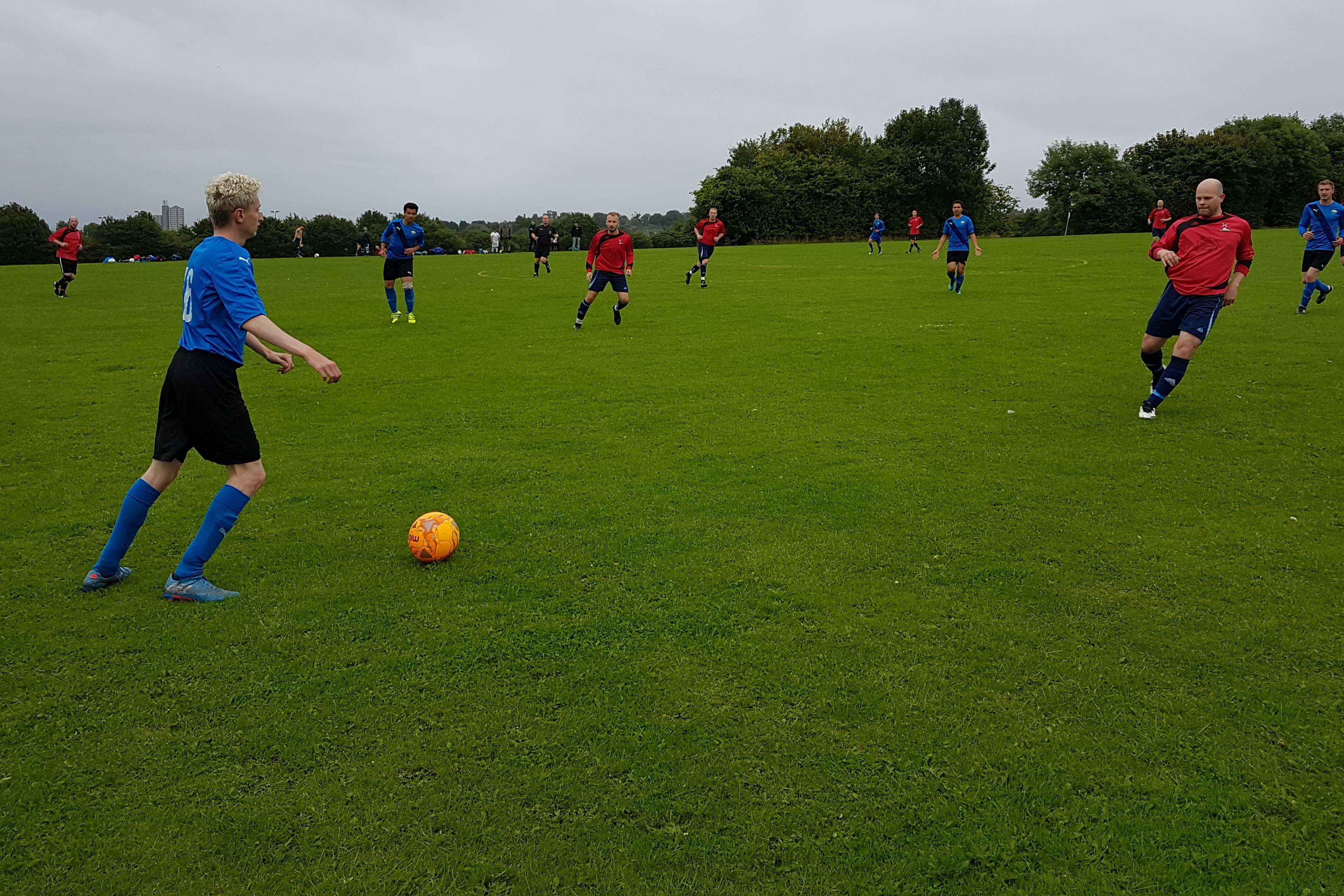 Sutton Bonington FC playing against Woodhouse Imperial FC